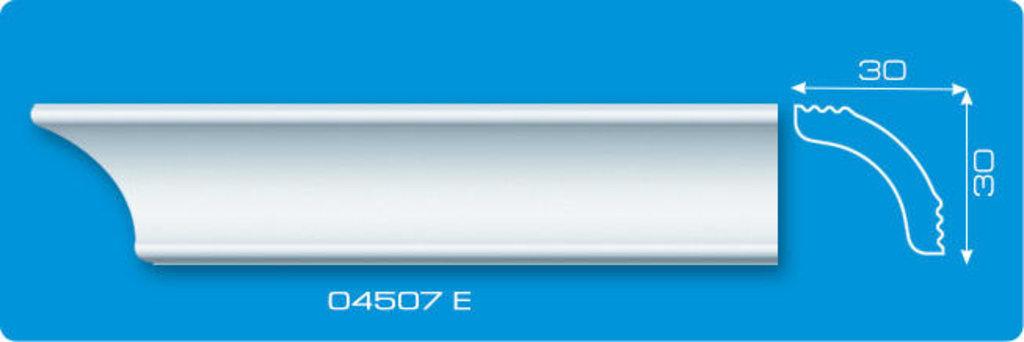 Плинтуса потолочные: Плинтус потолочный ФОРМАТ 04507 Е экструзионный длина 2м в Мир Потолков