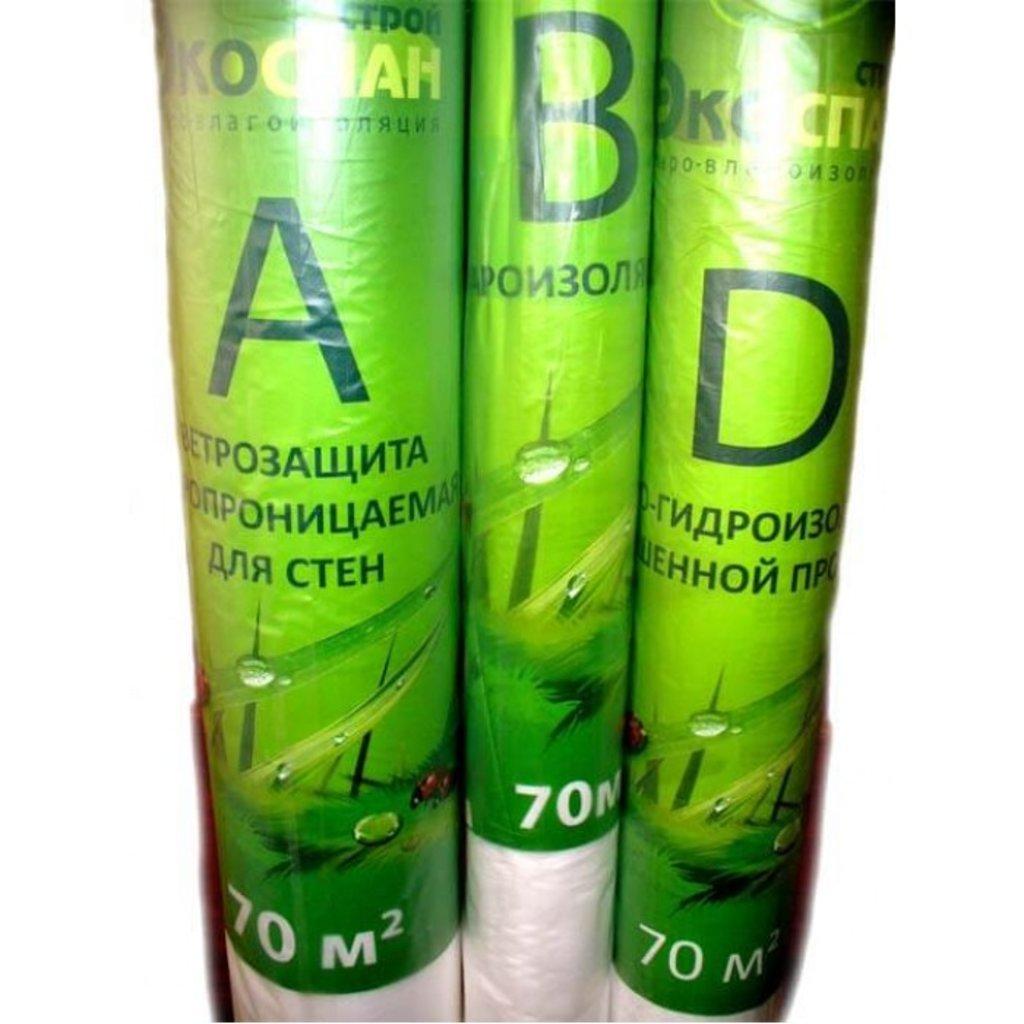 Экоспан: Экоспан-Строй В пароизоляция (рулон 70м2) в АНЧАР,  строительные материалы