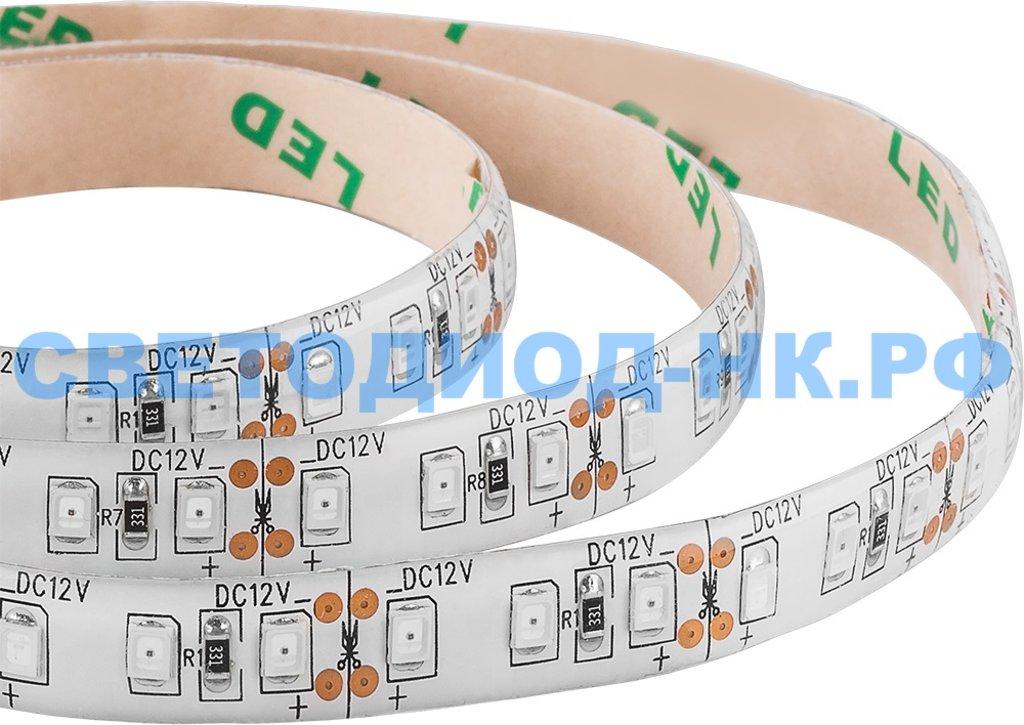 Фитолампы, фитосветильники: Светодиодная LED лента Feron LS670, 120SMD(2835)/м 9.6Вт/м 5м IP65 12V для растений в СВЕТОВОД