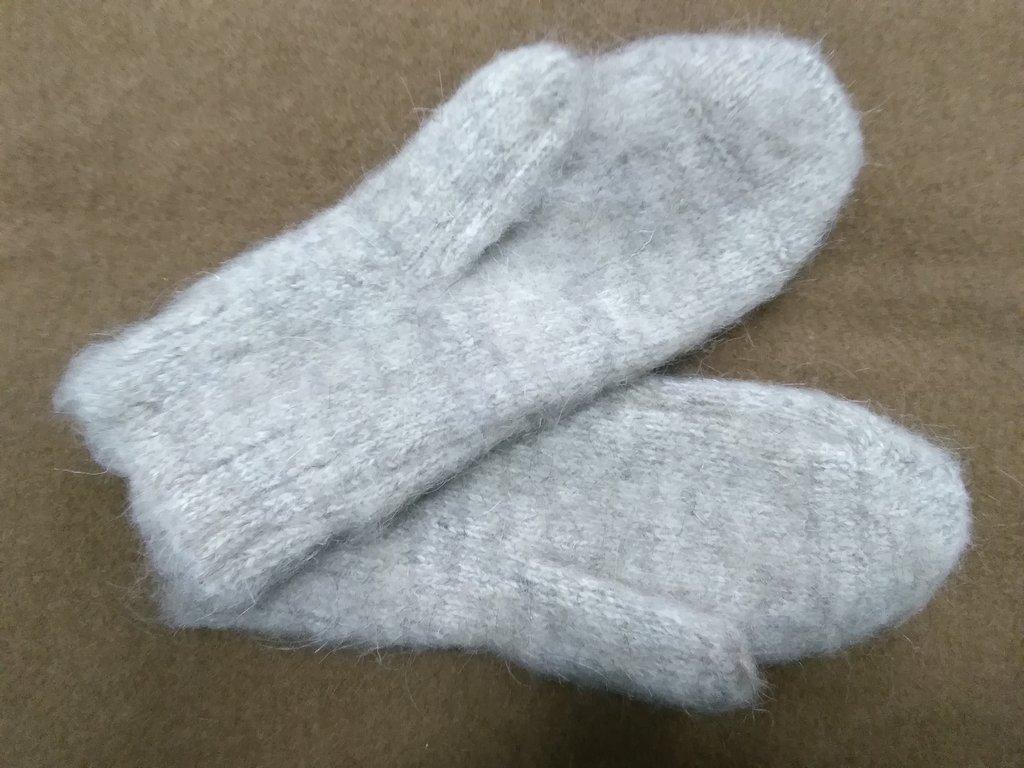 Варежки, носки, гольфы, наколенники: Варежки мужские из собачьей шерсти в Сельский магазин