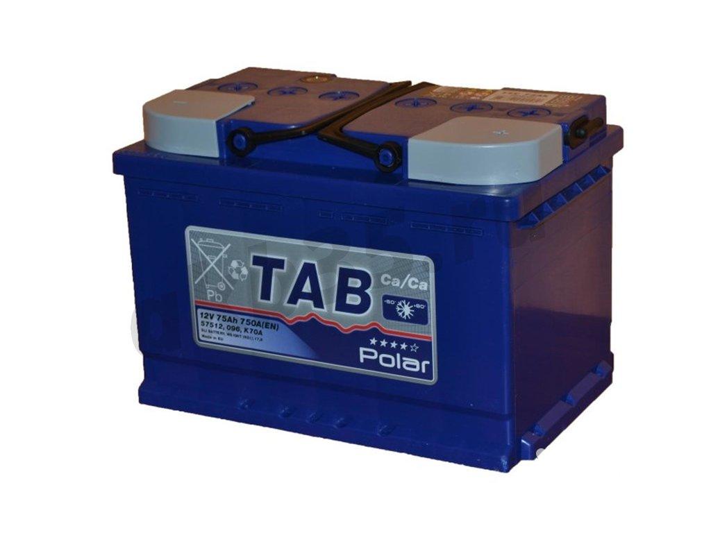 Аккумуляторы: TAB 75 А/ч Обратный POLAR в Планета АКБ