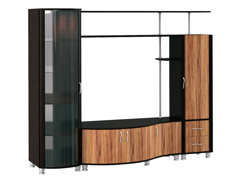 Шкафы, общие: Шкаф МЦН 21 Элегия в Стильная мебель