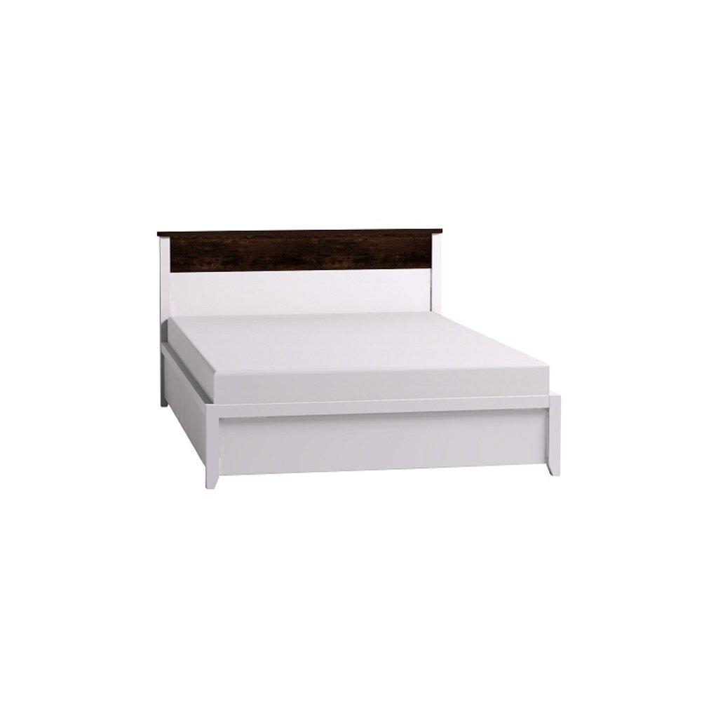 Кровати: Кровать Норвуд 33 (1400, орт. осн. дерево) в Стильная мебель