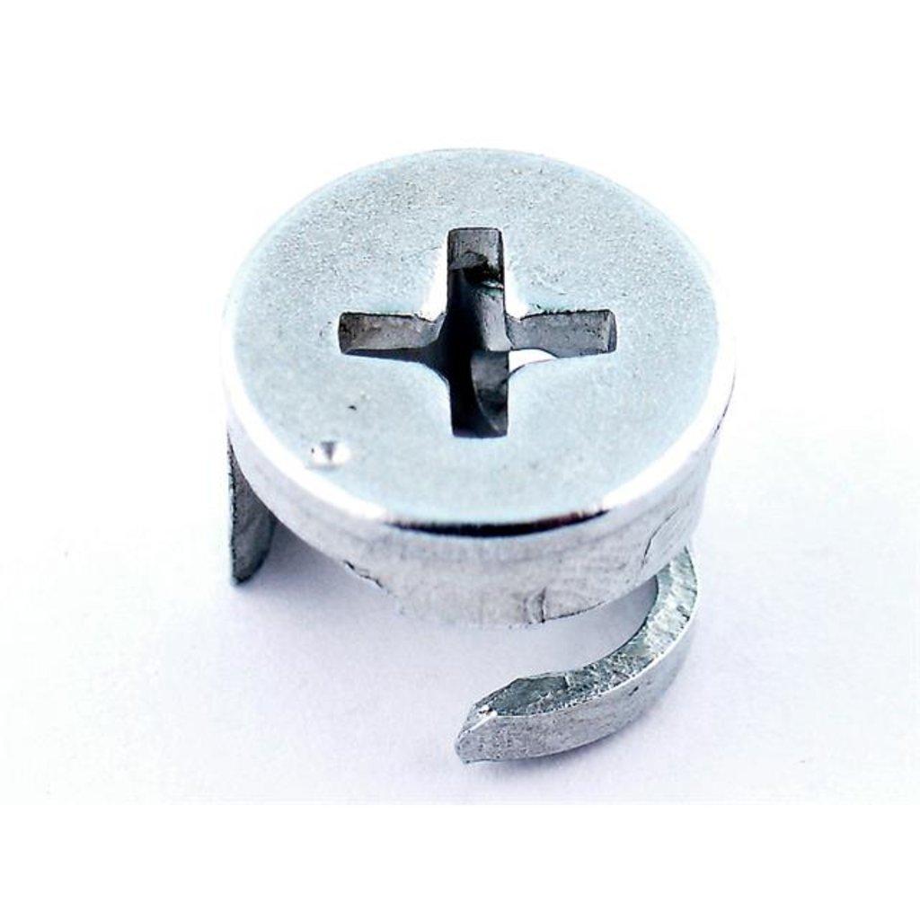 Крепежные изделия, общее: Винт для стяжки фасада в ВДМ, Все для мебели, ИП Жаров В. Б.