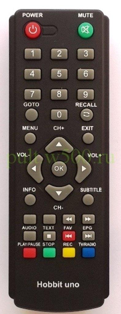 DiVisat: Пульт Divisat  HOBBIT UNO, HOBBIT UNO+,  HOBBIT NANO (DVB-T2) HUAYU в A-Центр Пульты ДУ
