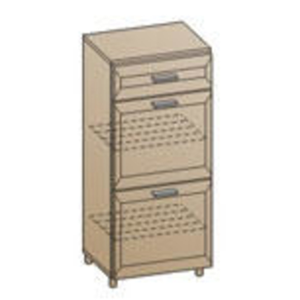 Мебель для прихожей Мелиса - композиция 1. Модули: Обувница ТБ-822 Мелиса в Диван Плюс