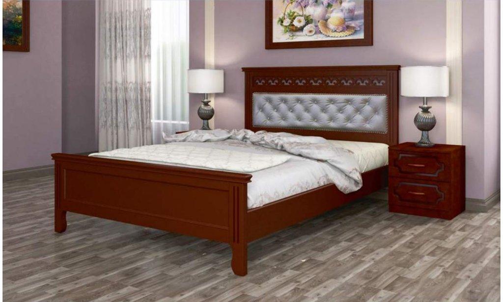 Кровати: Кровать Грация (массив) в Уютный дом
