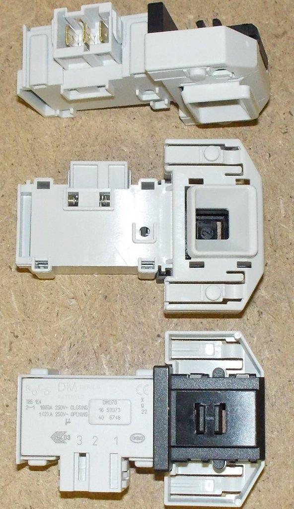 Термоблокировка люка для стиральной машины (УБЛ): Блокировка люка для стиральных машин Бош (Bosch) MAXXX, Сименс (Siemens),  00610147, 00658976 в АНС ПРОЕКТ, ООО, Сервисный центр