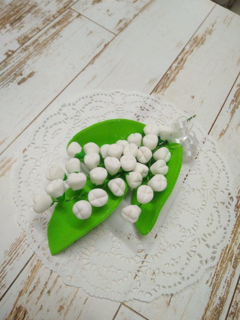 Украшения, декор: Украшение сахарное Ландыш в ТортExpress