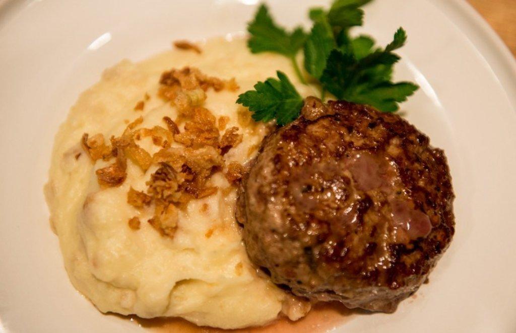 Среда: Комплекс: сложный гарнир + шайба мясная + салат деревенский (350 г) в Смак-нк.рф
