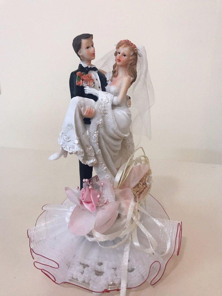 Несъедобные украшения: Фигурка свадебная в ТортExpress