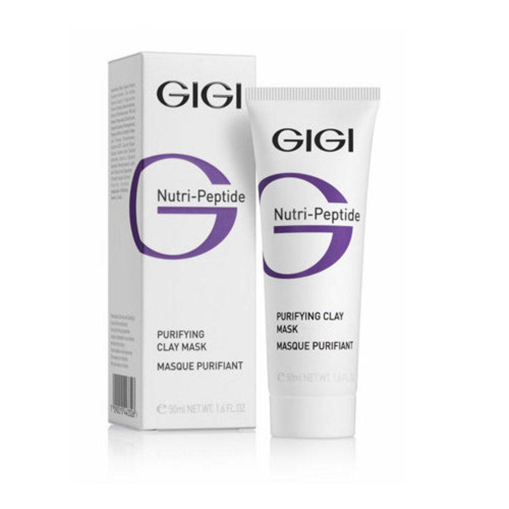 Очищение: Очищающая глиняная маска для жирной кожи/ Purifying Clay Mask, GiGi, Nutri-Peptide в Косметичка, интернет-магазин профессиональной косметики