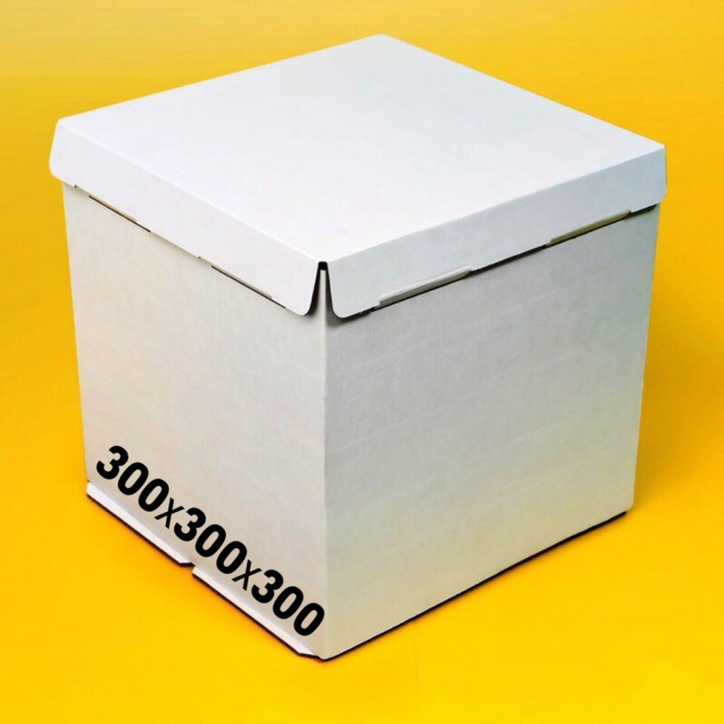 Коробки для тортов: Короб 300х300х300мм в ТортExpress