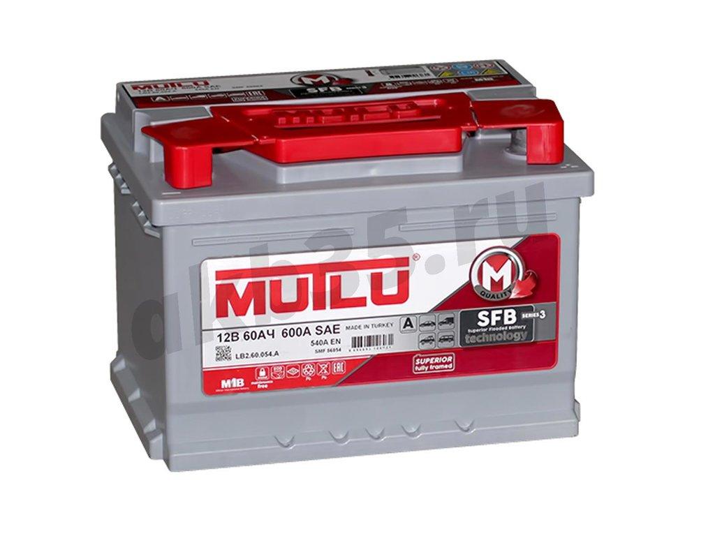 Аккумуляторы: MUTLU 60 А/ч /П.П./ SFB 480 в Планета АКБ