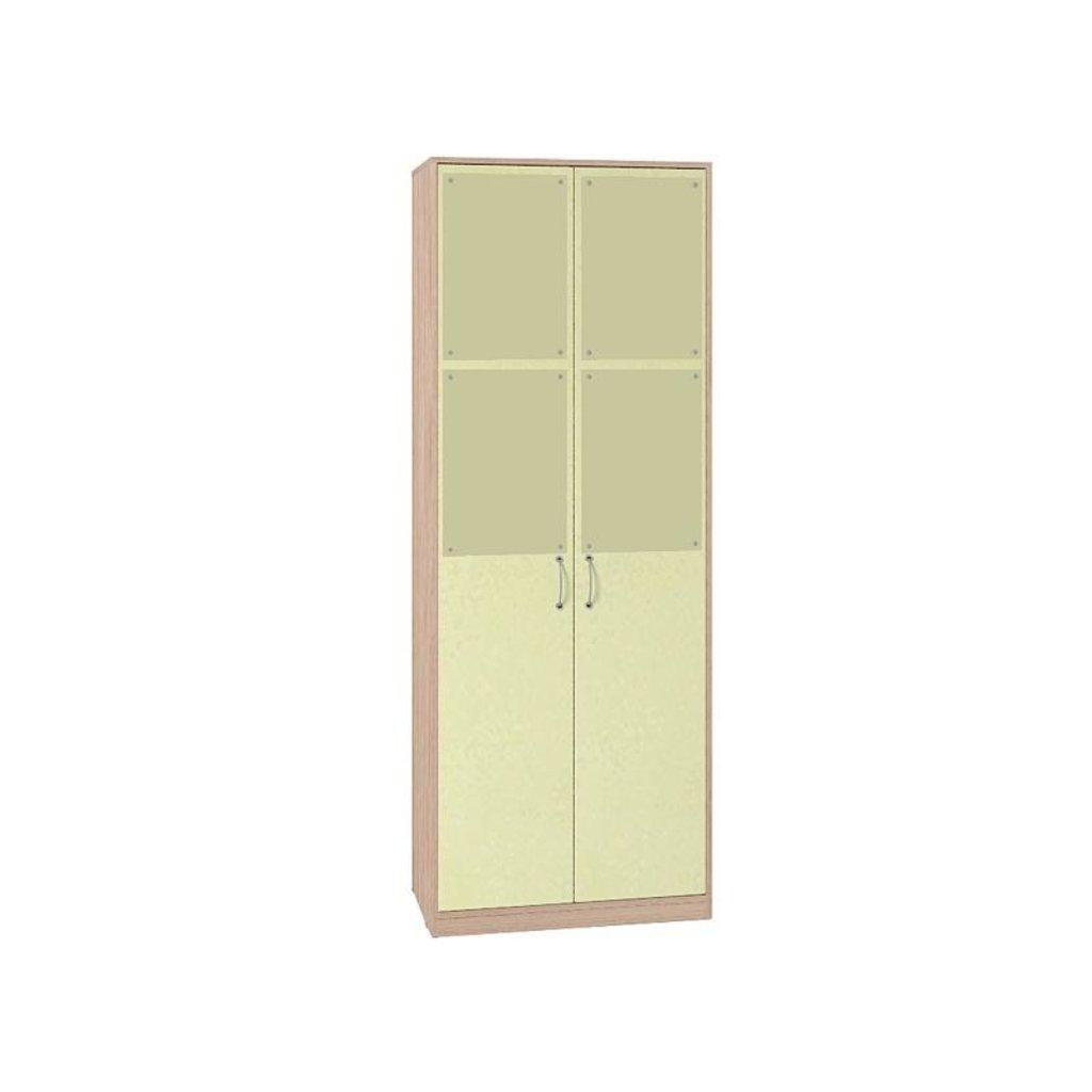 Детские шкафы и стеллажи: Шкаф для одежды Фасад Лимон Калейдоскоп 6 в Стильная мебель