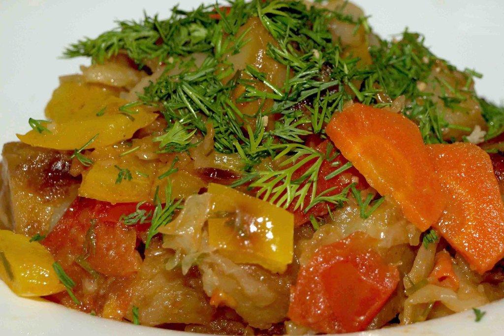 Гарниры: Овощное рагу 180гр в Смак-нк.рф