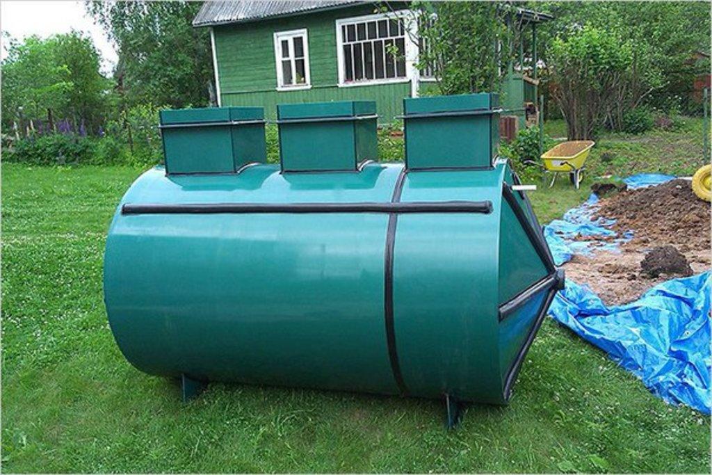 Септик: Септик Лидер-0,4 в Аквамарин, бурение скважин на воду в Вологде