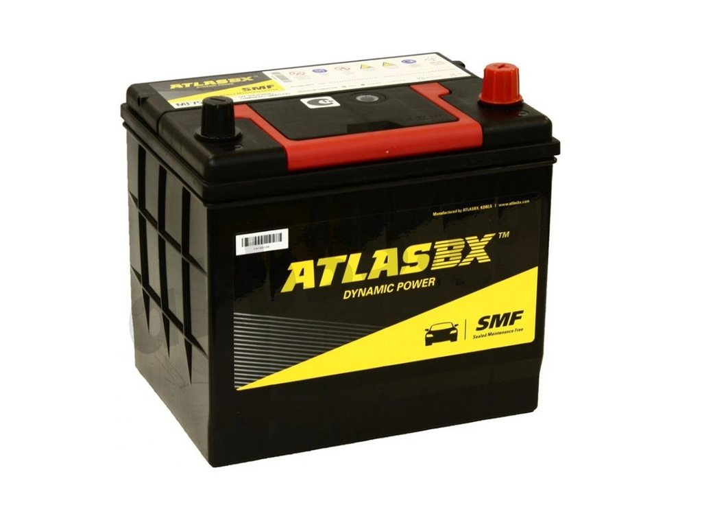 Аккумуляторы: ATLAS 6СТ-60 О.П. MF85-500 в Планета АКБ