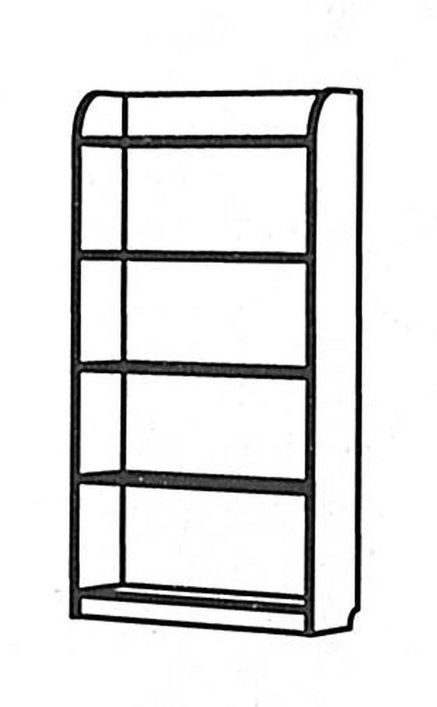 Детские шкафы и стеллажи: Пенал Денди Морячок МДФ в Стильная мебель