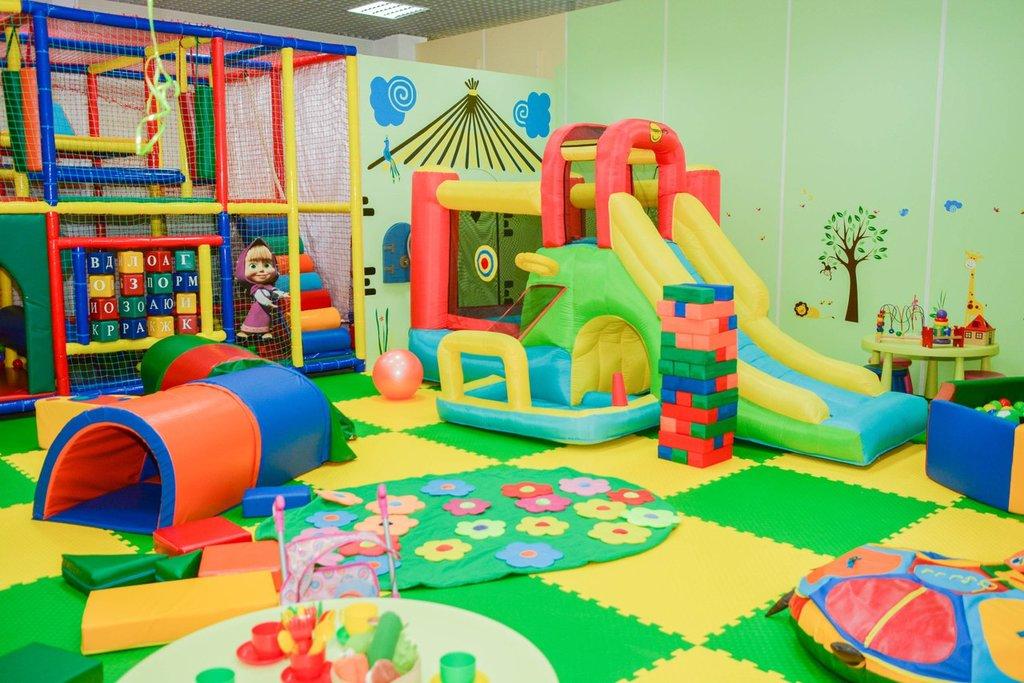 Детские игротеки: Детская игровая комната в Детский центр Фея
