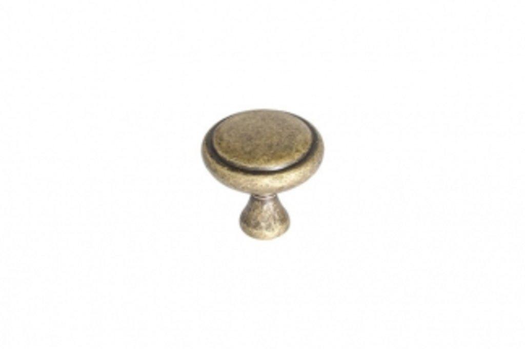 """Мебельная фурнитура """"НОВИНКИ"""": Ручка-кнопка, отделка бронза матовая в МебельСтрой"""