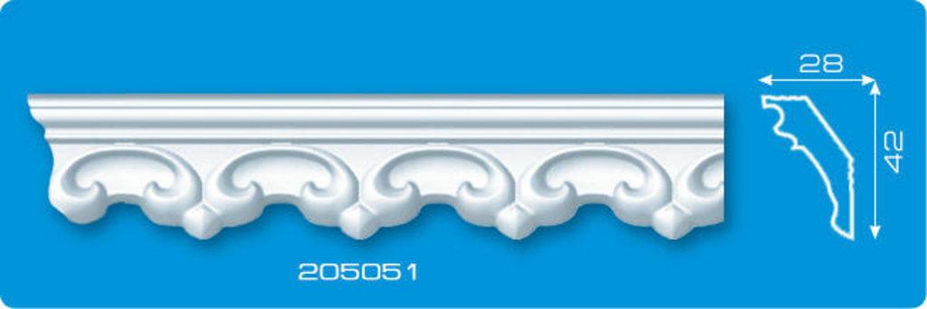 Плинтуса потолочные: Плинтус потолочный ФОРМАТ 205051 инжекционный длина 2м в Мир Потолков