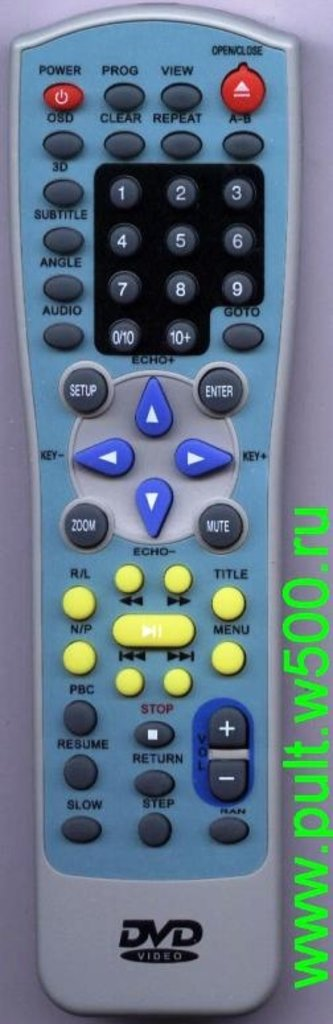 SITRONICS: Пульт SITRONICS JX-9001B, KM-608 AKAI, POLAR (DVD) Hinhuat в A-Центр Пульты ДУ