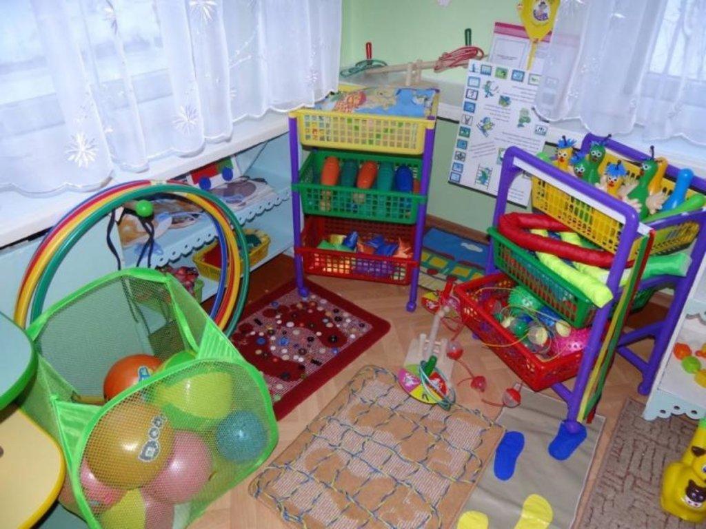 Детские игротеки: Спортивный уголок в Детский центр Фея