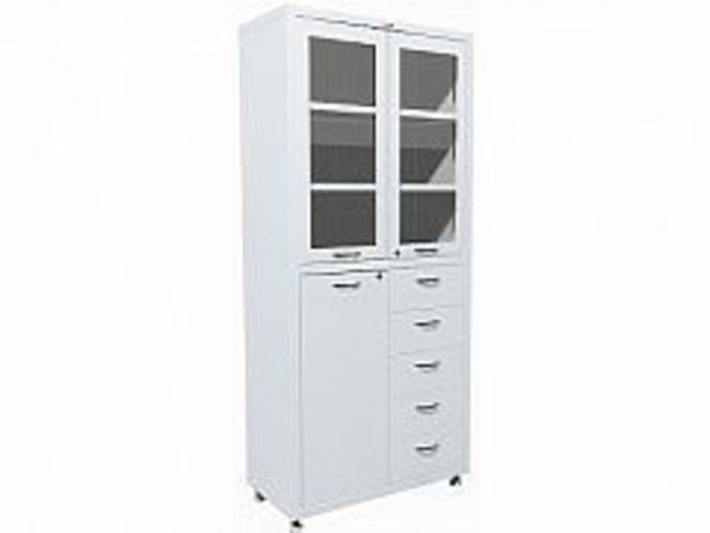 Шкафы медицинские металлические: Шкаф медицинский HILFE МД 2 1780 R-5 в Техномед, ООО