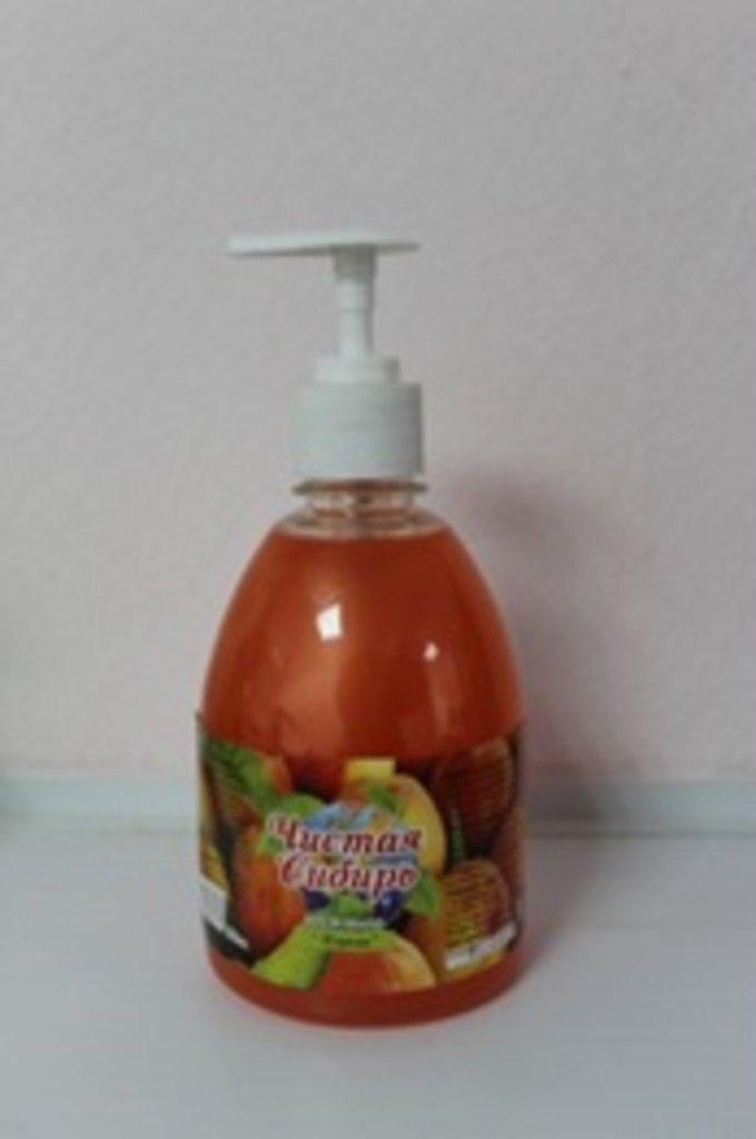 Жидкое мыло премиум класса: Зеленое яблоко 0,5 л (дозатор) в Чистая Сибирь