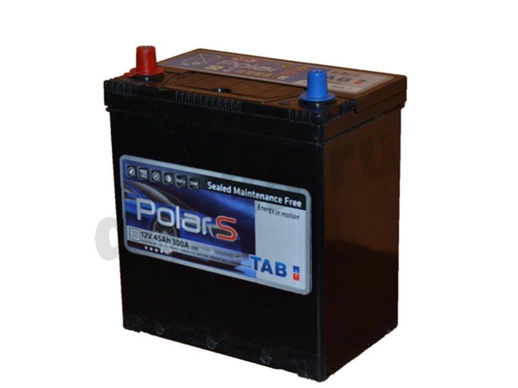 Аккумуляторы: TAB 6СТ-45 /П.П./ JIS MF в Планета АКБ