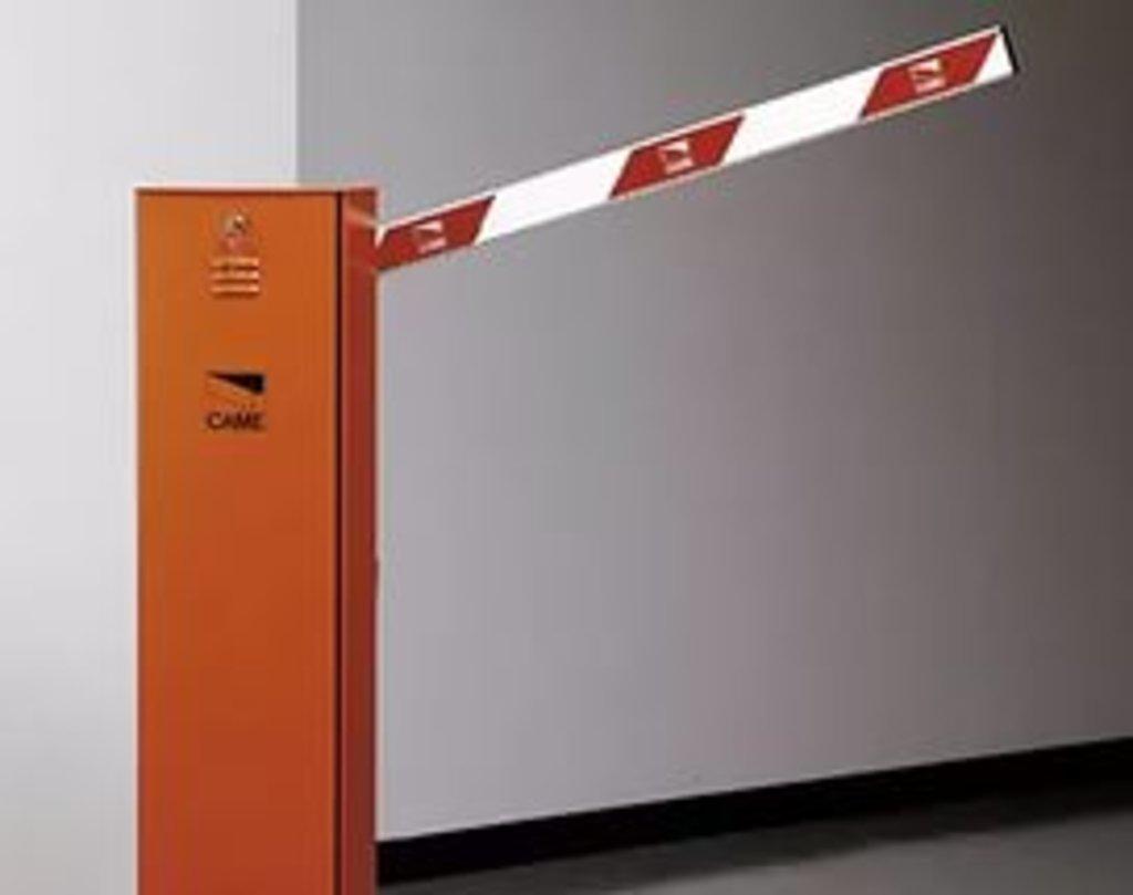 Автоматический шлагбаум и комплектующие: Шлагбаум автоматический GARD 2500 (длина стрелы 2,5 метра) в АБ ГРУПП