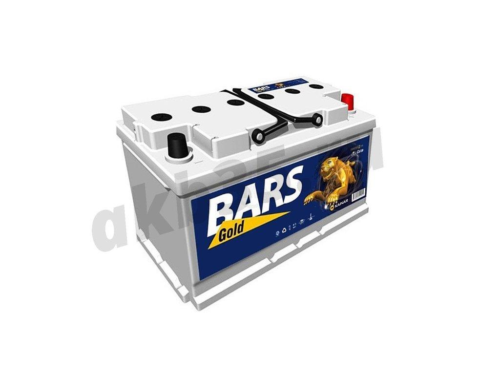 Аккумуляторы: BARS 75 а/ч /О.П./ silver низкий в Планета АКБ