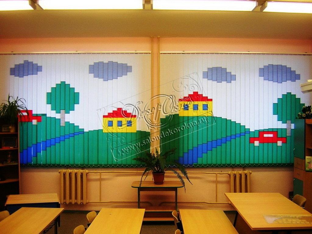 Жалюзи для окон: Вертикальные жалюзи в Декор окна, салон