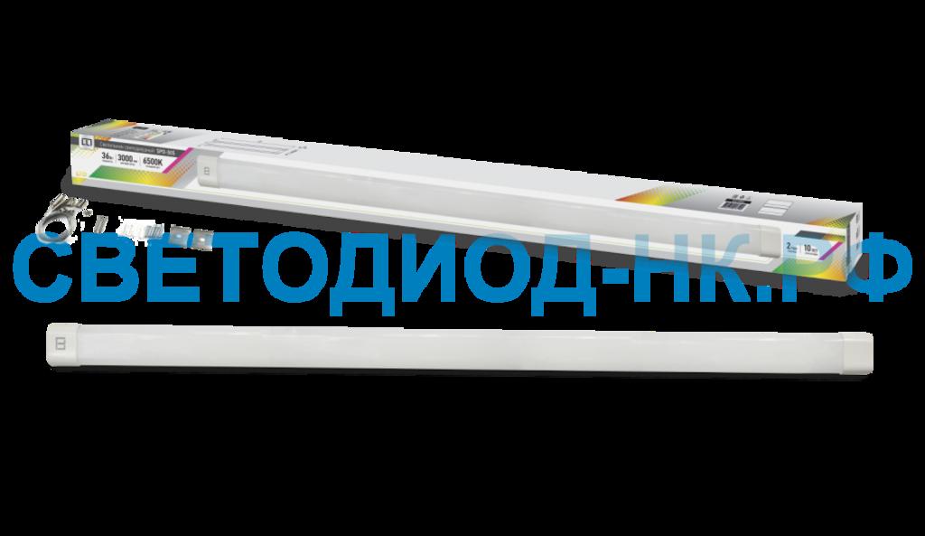 Линейные светильники: Светильник сд SPO-505 36Вт 230В 6500К 3000Лм 1200мм IP40 LLT в СВЕТОВОД