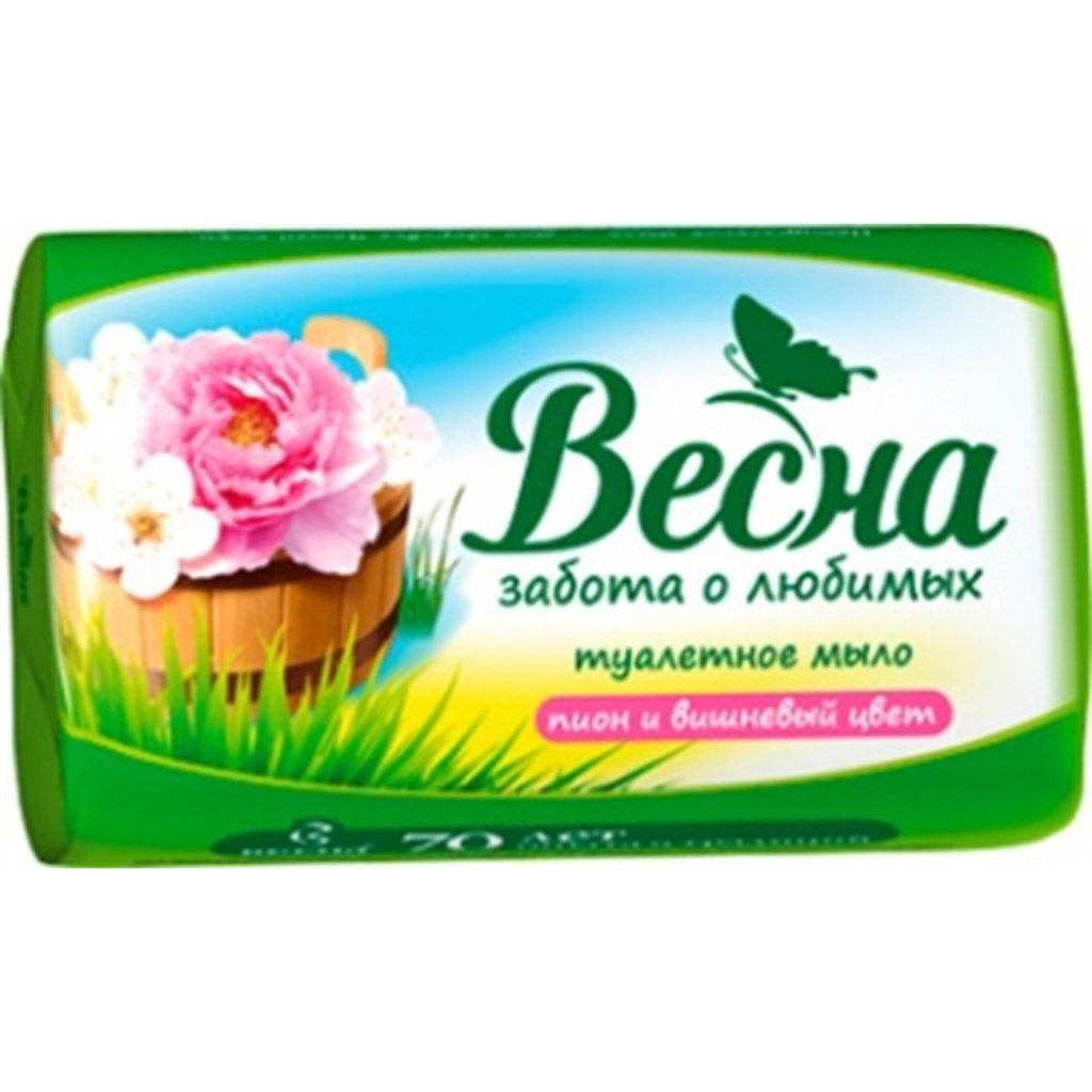 Туалетная бумага, салфетки и др.: Т/мыло Весна 90гр/72шт в Чистая Сибирь