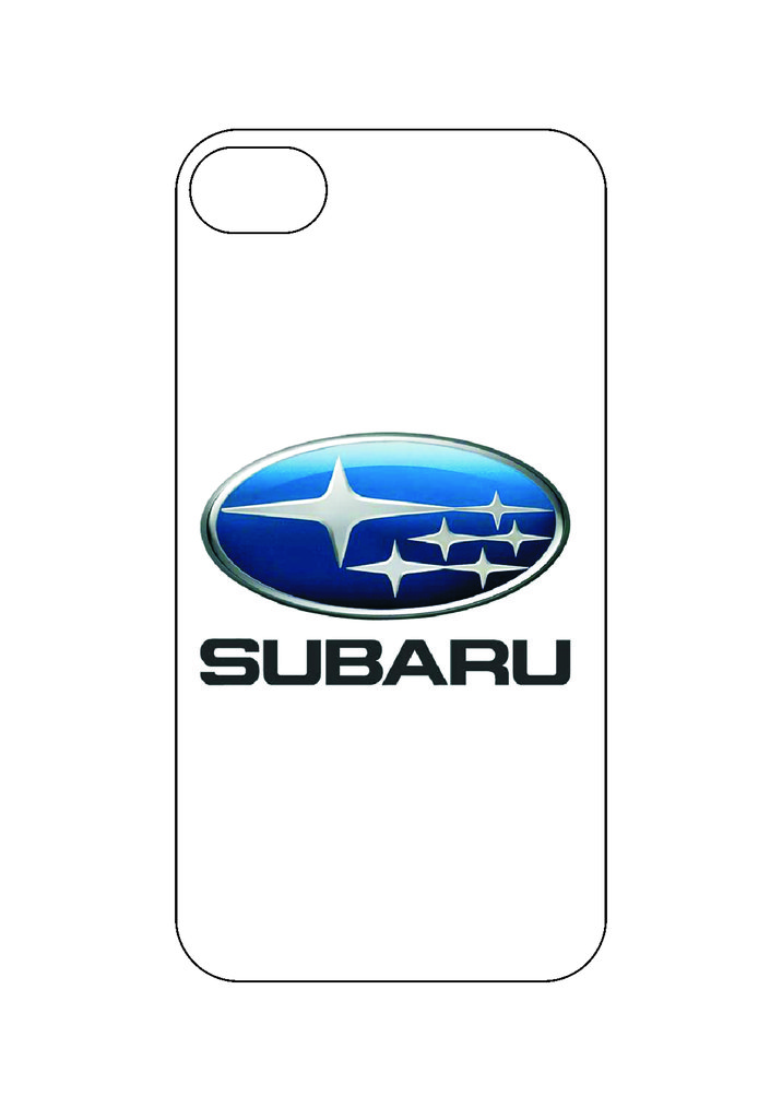 Выбери готовый дизайн для своей модели телефона: Subaru в NeoPlastic