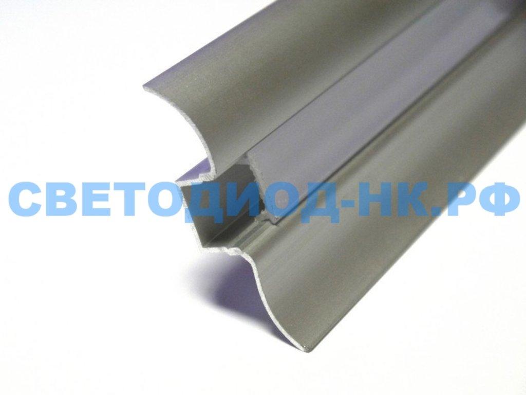 Алюминиевый профиль: Rexant Профиль плинтус алюминиевый 5016-2, 2м, 146-235 в СВЕТОВОД