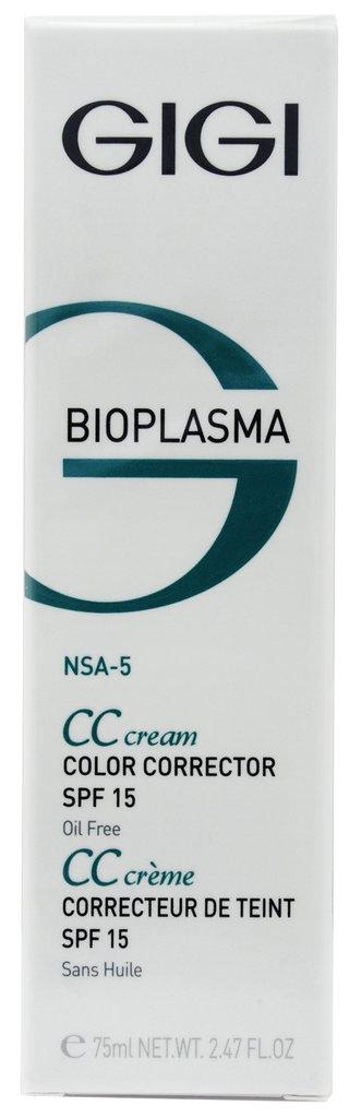 Крема: Крем для коррекции цвета кожи с SPF 15 / CC Cream, Bioplasma, GiGi в Косметичка, интернет-магазин профессиональной косметики