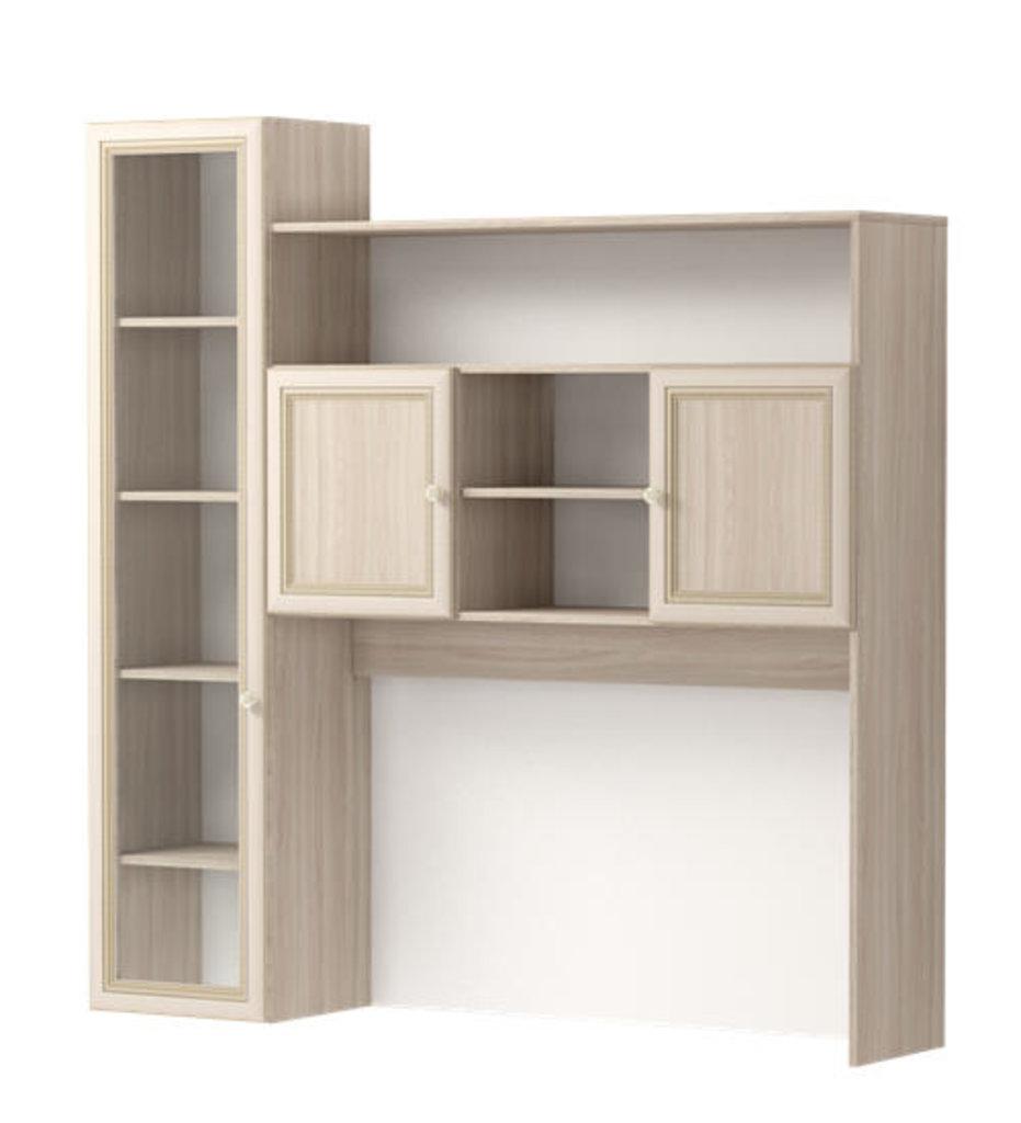 Мебель для гостиных, общее: Секция комбинированная 12 Брайтон в Стильная мебель