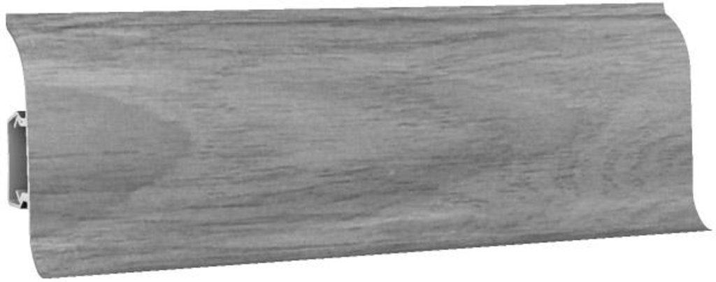 Плинтуса напольные: Плинтус напольный 60 ДП МК полуматовый 6068 дуб дымчатый в Мир Потолков