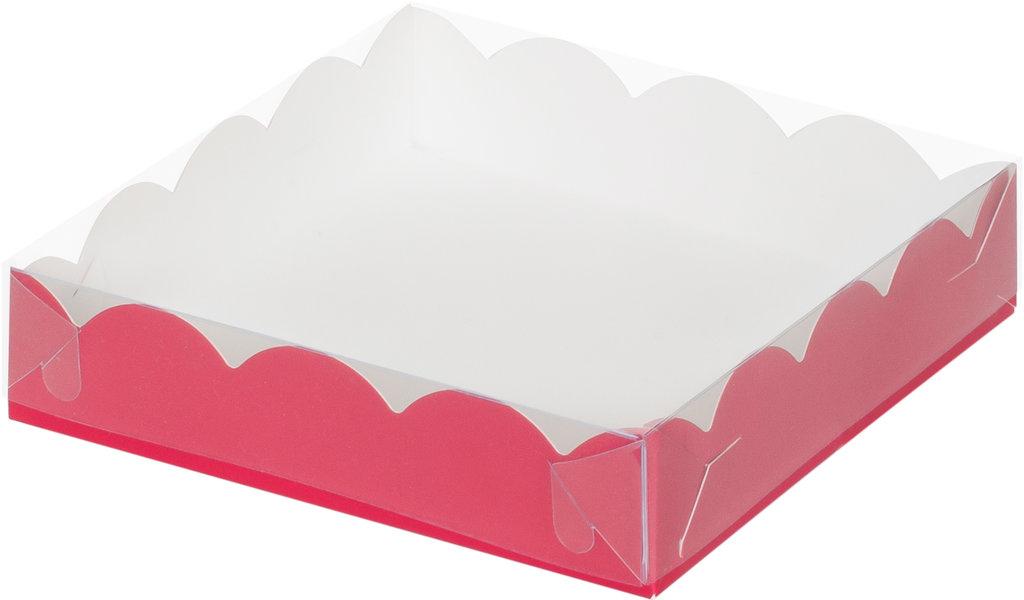 Коробки для пряников и печенья: Коробка 155х155х35мм для пряников (КРАСНАЯ) в ТортExpress
