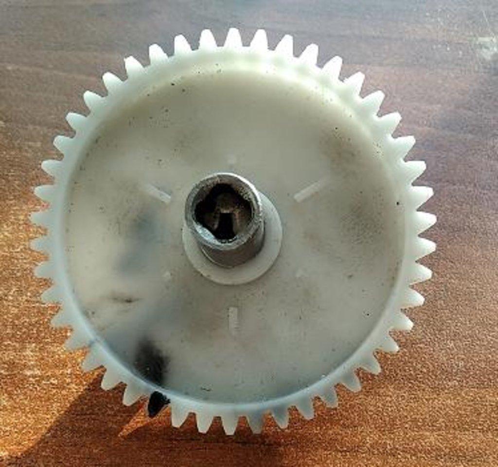 Запчасти для электромясорубок: Шестерня D=84/13; H=60/18.5; Z=46прям./металлический шток внутр.4-гр.(муфта=9мм), Ротор в АНС ПРОЕКТ, ООО, Сервисный центр