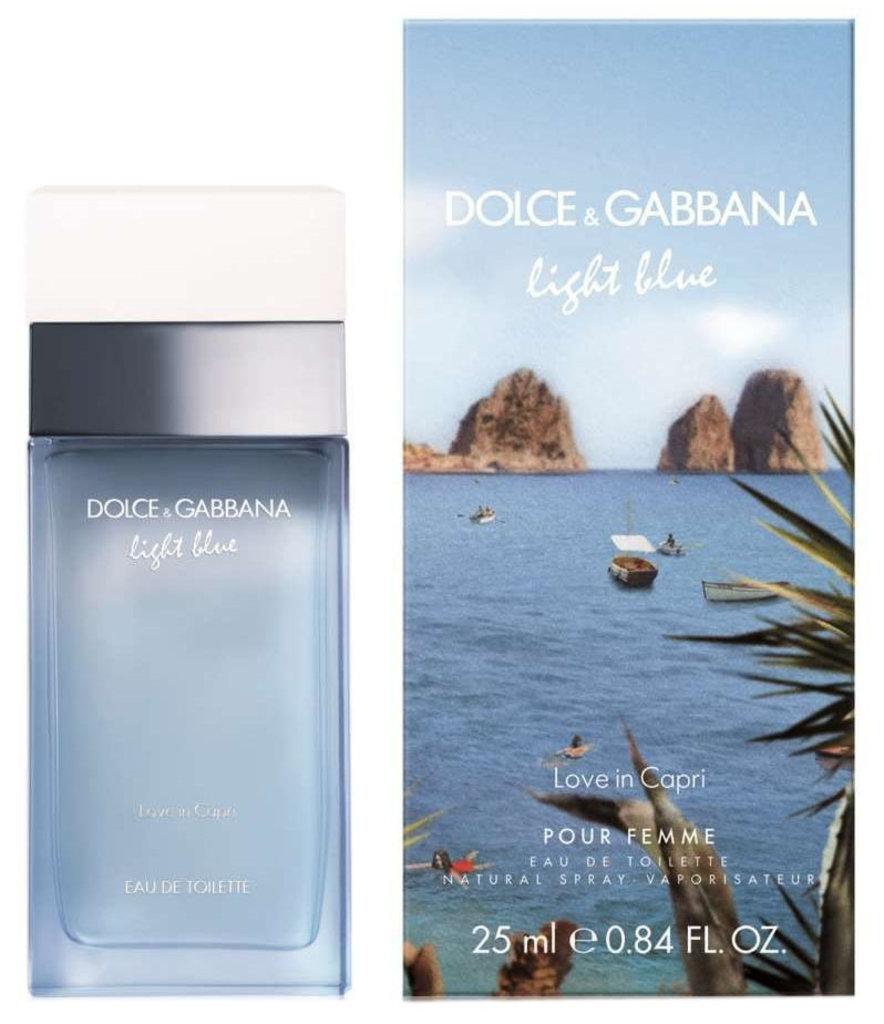Dolce&Gabbana (Дольче и Габбана): Dolce & Gabbana Light Blue Love in Capri Pour Femme (Дольче Габана Лайт Блю Лав ин Капри Пур Фэм) edp 100ml в Мой флакон