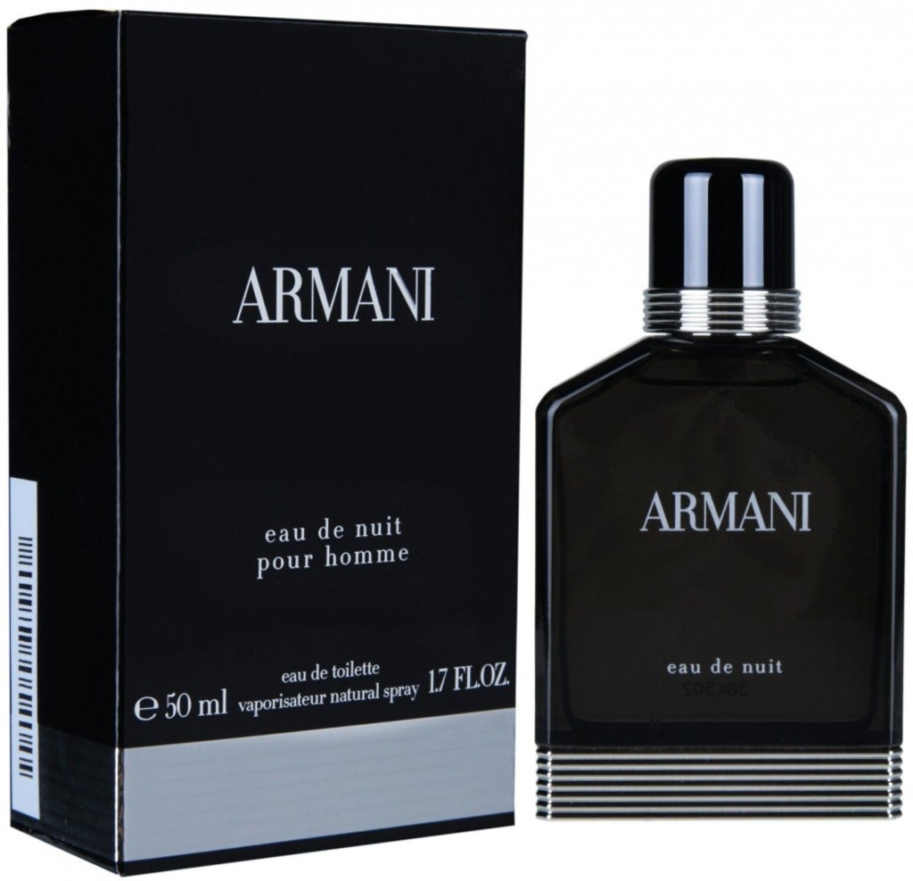 Мужская туалетная вода Armani: Armani Eau De Nuit туалетная вода edt м 50 в Элит-парфюм
