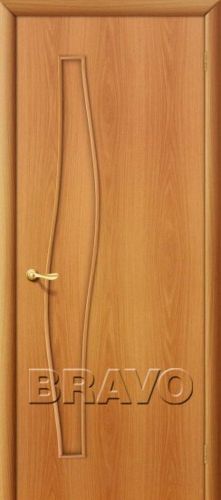Двери ламинированные BRAVO: 6Г Л-12 (МиланОрех) в STEKLOMASTER