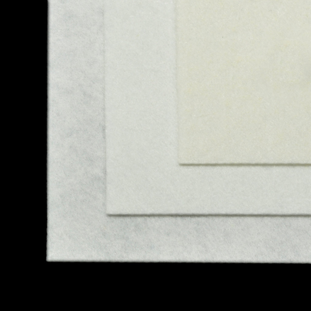 Фетр: IDEAL Фетр жёсткий 1мм 20*30см белый 1лист в Шедевр, художественный салон