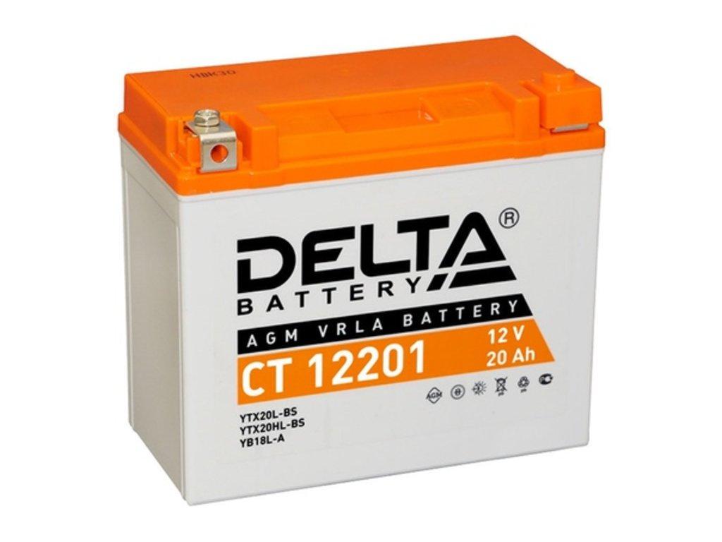 Delta: DELTA CT 12201 в БазаАКБ