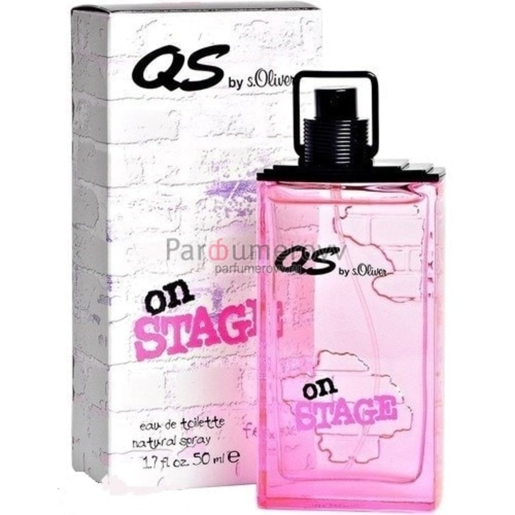s.Oliver: s.Oliver Qs On Stage Woman edt ж 50 ml ТЕСТЕР в Элит-парфюм