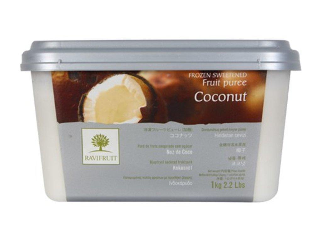 Фруктовое пюре: Пюре Ravifruit Кокос,1кг в ТортExpress